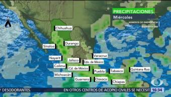 Llueve, CDMX llaman a tomar precauciones en labores de rescate
