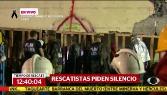 Confirman canal abierto hacia niña atrapada en colegio Rébsamen