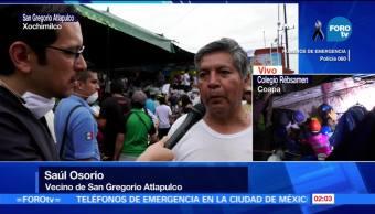 La tragedia en San Gregorio Atlapulco