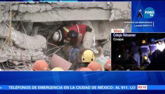 Segundo día de rescate tras el sismo