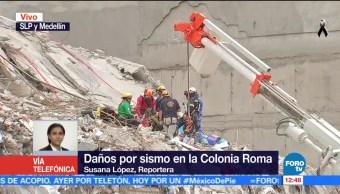 Cierran comercios cercanos a zona de derrumbe en la colonia roma, CDMX