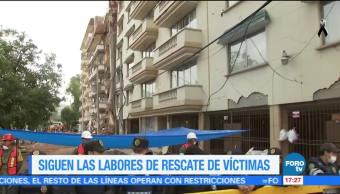 Siguen labores de rescate en Lindavista