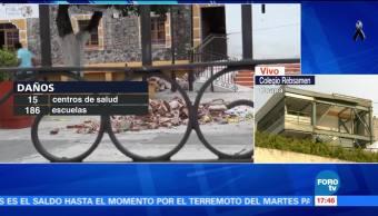 Axochiapan, el más afectado por el sismo en Morelos