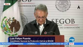 No se dejará de buscar a sobrevivientes del sismo Luis Felipe Puente