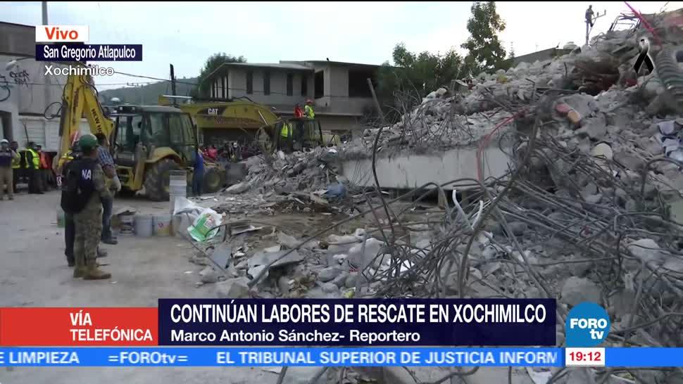 Intensifican labores de inspección en San Gregorio Atlapulco