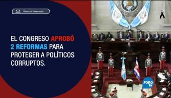Guatemala dice 'no' a la impunidad