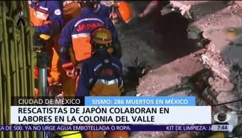 Recuperan cuerpo de una mujer en edificio colapsado en colonia Del Valle
