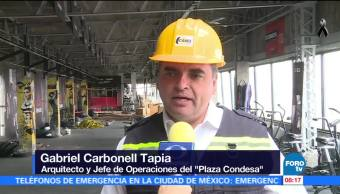 Edificio Plaza Condesa no sufrió afectaciones tras sismo