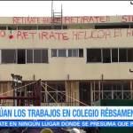 La esperanza sigue en pie en el colegio Rebsamen de la CDMX