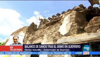 Sismo daña la iglesia de Santa Prisca en Taxco