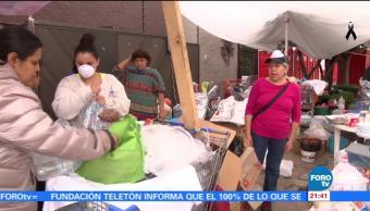 Historias de sobrevivientes del sismo en Coapa