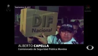 Desconfianza por ayuda humanitaria en Morelos