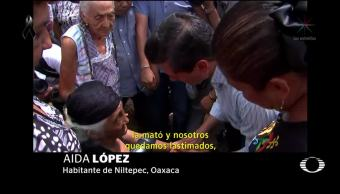 EPN visita de nuevo a damnificados de Chiapas y Oaxaca