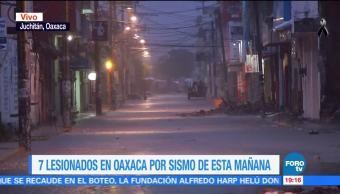 Lluvia afecta labores de remoción de escombro en Oaxaca