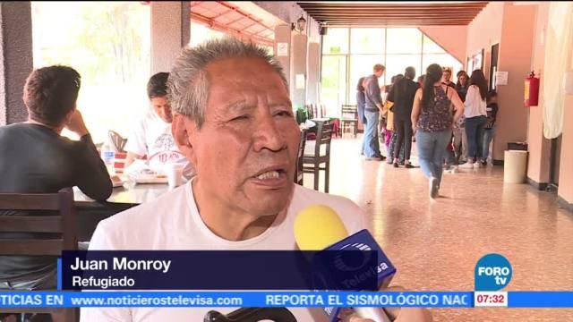 Hombre invidente mantiene la fe tras perder todo tras sismo