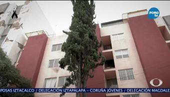 Daños en viviendas después del sismo en la CDMX