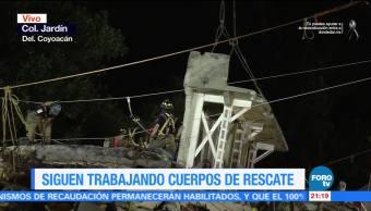 Avanza segunda etapa de remoción de escombros en Tlalpan