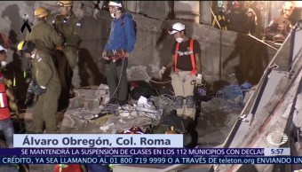 Reanudan búsqueda de 40 desaparecidos en Álvaro Obregón, CDMX