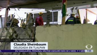 Sí hay certificado de que colegio Rébsamen estaba bien construido, dice Sheinbaum