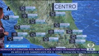 Clima Al Aire: Pronostican lluvia en la Ciudad de México