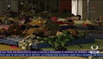Solicitan sandalias y ropa interior de dama en albergue de Benito Juárez