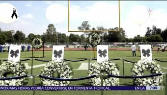 Rinden homenaje a 5 estudiantes fallecidos durante sismo en Tec de Monterrey