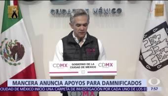 Mancera firma decreto para plan de reconstrucción de la CDMX