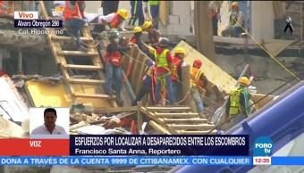 Se cumple una semana del sismo y sigue rescate en Álvaro Obregón