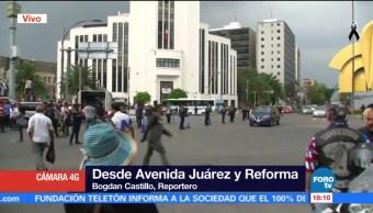 Marcha silenciosa, a tres años del caso Ayotzinapa