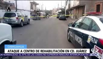 Comando armado asesina a 16 personas en centro de rehabilitación en Chihuahua
