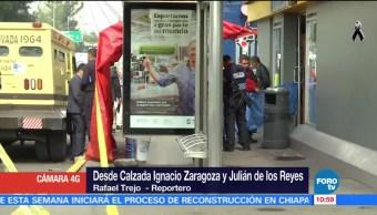 Mueren dos personas tras asalto en la calzada Ignacio Zaragoza