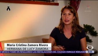 Hermana de Lucy narra cómo vivió el rescate en Álvaro Obregón 286
