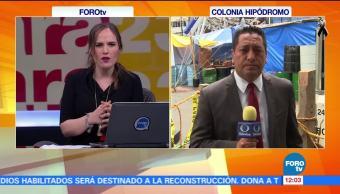 Habitantes del multifamiliar Tlalpan piden información sobre sus hogares