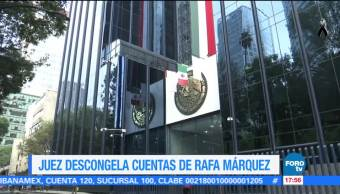 Juez descongela cuentas de Rafa Márquez