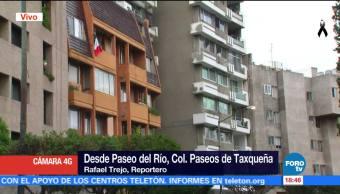 Vecinos siguen en espera de ayuda en Paseos de Taxqueña