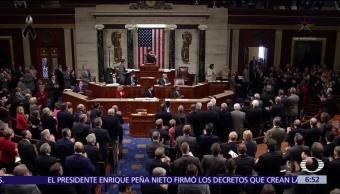 Dan bienvenida a Steve Scalise en Cámara de Representantes de Estados Unidos