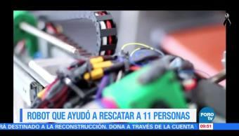 Extra, Extra: Robot que ayudó a rescatar a 11 personas