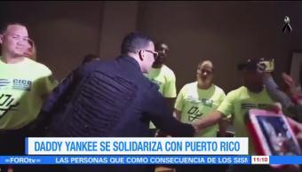 Daddy Yankee se solidariza con Puerto Rico