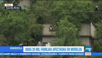 Casas de Xoxocotla, Morelos, reportan daños por sismo del 19 de septiembre