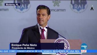 Finanzas públicas sanas permitirán la reconstrucción: EPN