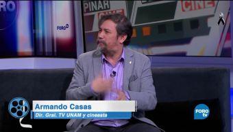 Armando Casas platica de. Vámonos con Pancho Villa