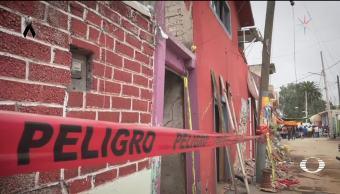 Enormes grietas en San Gregorio Atlapulco