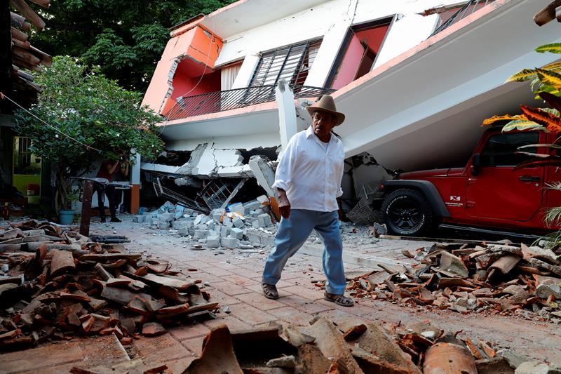 Siguen sin clases un millón de alumnos en Chiapas por sismo