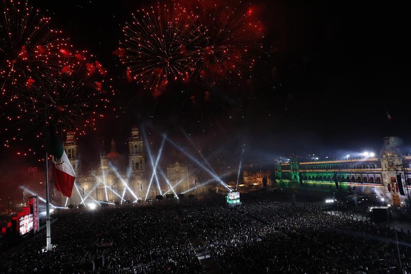 Saldo blanco tras Grito de Independencia en el Zócalo y delegaciones