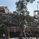 Hay reporte de personas atrapadas por derrumbes, informa Mancera