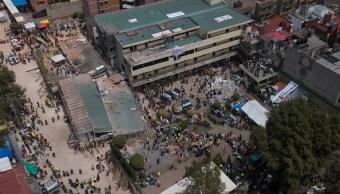 Documento falso avaló la construcción del Colegio Rébsamen