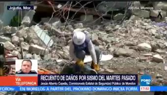 Morelos Llega Ayuda Jesús Alberto Capella Comisionado Seguridad Pública