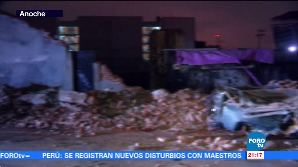 Afectaciones en la CDMX tras sismo de magnitud 8.2