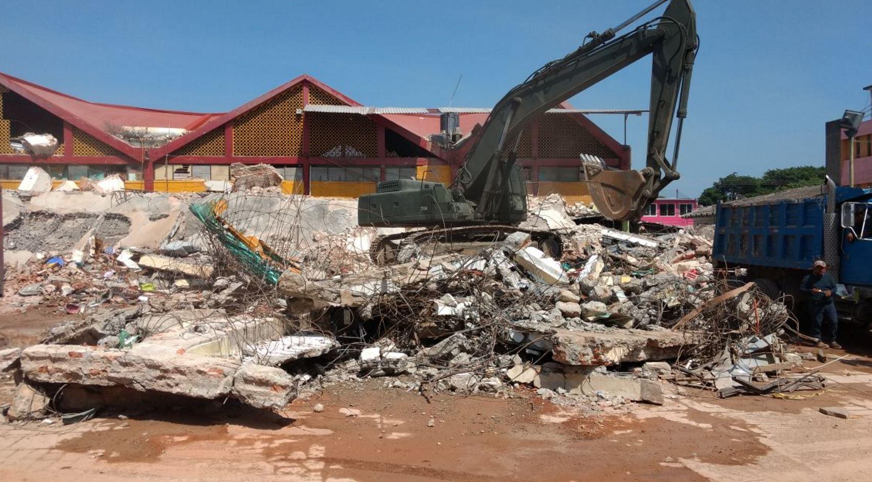 afetaciones por sismo en juchitán,oaxaca