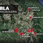 Alerta en Puebla por 'Katia' se esperan lluvias intensas